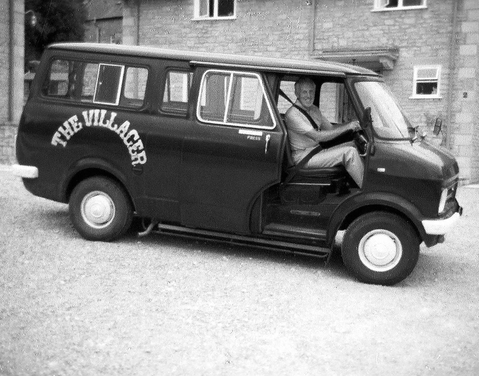 One of the original Villager minibuses